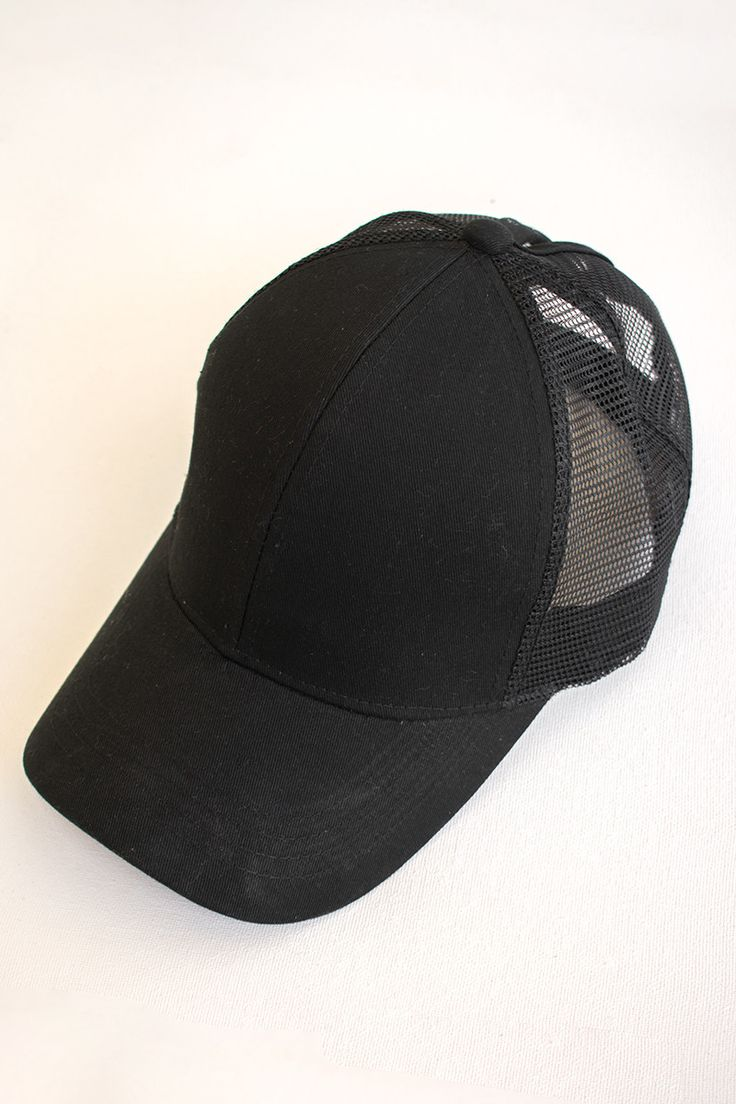 League Baseball Cap - Black