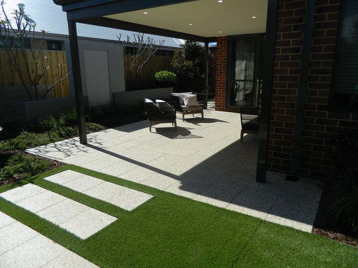 As the name suggests, this grass is as green as they come. Imagine those beautiful green fields that could be brought to your newly turfed area without ever having to mow the lawn or water the grass. Our exclusive Albany Green Synthetic Lawn features a stunning 4 colour profile, 35mm pile height and super shine that looks like it's been perfectly groomed.   With its C-shaped blades our Albany Green grass is super soft to walk on and gives you a