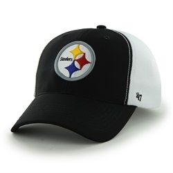 '47 Brand Relax Fitted Pittsburgh Steelers Hat