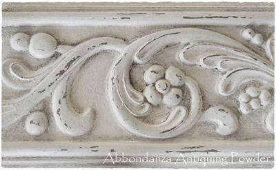 Abbondanza Old White met Antiquing Powder Dusty Grey