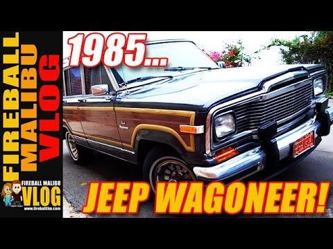 CLASSIC 1985 JEEP GRAND WAGONEER! - FIREBALL MALIBU VLOG 615 FIREBALL'S BOOKS ON AMAZON! http://ift.tt/2faxJCq FIREBALL'S BLOG! http://ift.tt/12aPqeo FIREBALL MALIBU VLOG - Inspiring you to BREAKOUT! Do WHAT YOU LOVE and LOVE WHAT YOU DO! CLASSIC 1985 JEEP GRAND WAGONEER! - FIREBALL MALIBU VLOG 615 - Fireball and Kathie drive a classic 1985 Jeep Grand Wagoneer for the day. Lose to a skateboarder. THE VLOG STORE IS OPEN! Snag one of Fireball's new HATS & MUGS and support the Vlog…