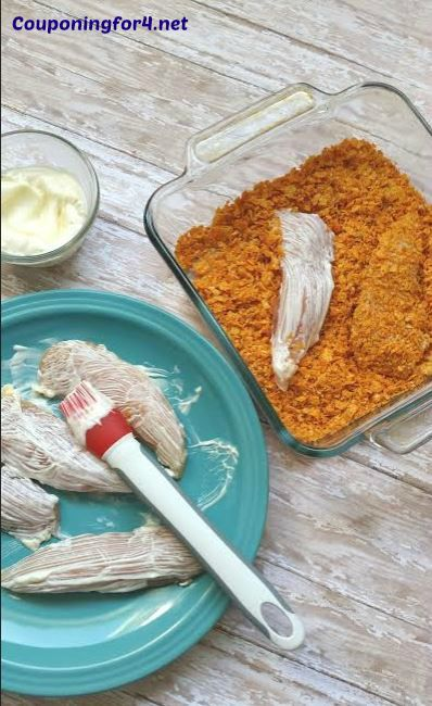 Easy Doritos Chicken Tenders | Couponing For 4