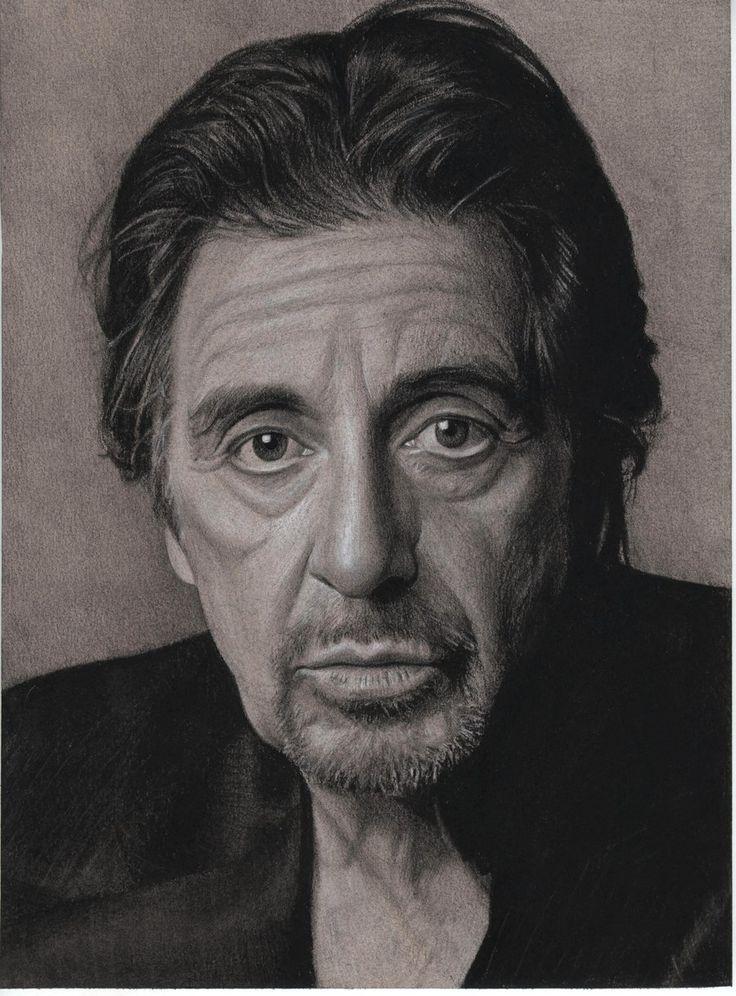 Al Pacino by Lizapoly on deviantART ~ traditional pencil