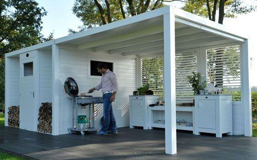 Tuinhuisje | Interieur inrichting