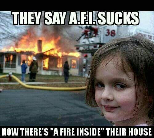 AFI - A FIRE INSIDE - DAVEY HAVOK