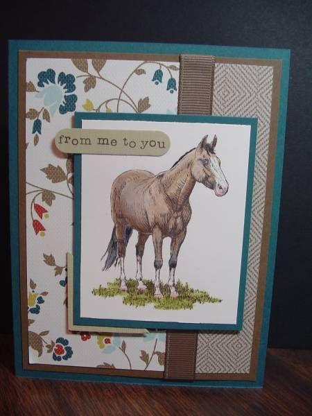 Для, барни открытка с лошадками