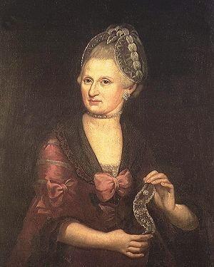 Anna Maria Mozart, née Pertl, Mother of Wolfgang Amadeus Mozart, 1775 by Pietro Antonio Lorenzoni
