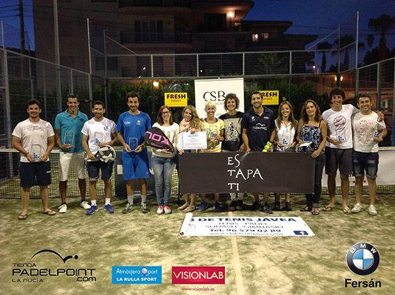 El fin de semana del 6 y 7 de junio, el Club de Tenis de Jávea acogió un Torneo de Padel. El evento, que contó con la colaboración de Atmósfera Sport La Rullla Sport y, fue todo un éxito #padel