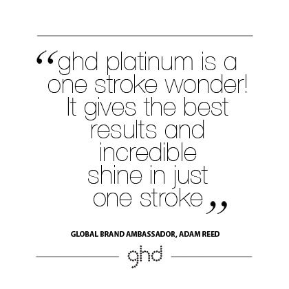 ghd platinum release in Denmark.