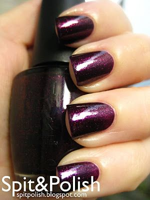 """OPI's """"Chatters Me Up"""" (Only available at Chatters salons in Canada... I wish I had a friend from there!!)"""
