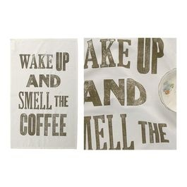 Smell The Coffee Tea towels - contemporary - dishtowels - Keep Calm Gallery
