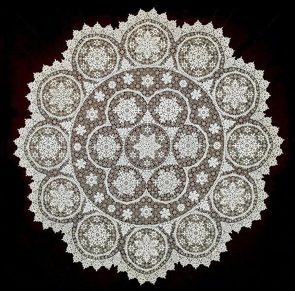 Russian folk crafts: Vologda lace