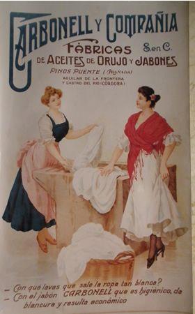 Alimentación. Aceite de oliva Carbonell @@@@......http://www.pinterest.com/marajosmuoz/publicidad-antigua/