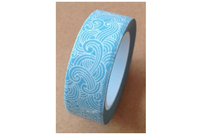Printed,self-adhesive, paper tape.Size:Width: 15mmLength: 10mUsed for scrapbooking, crafts, gift-wrapping and packaging.  For sale on http://hellopretty.co.za