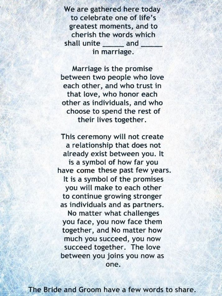 Traditional Wedding Ceremony Script Google Search Second Chances Pinterest Wedding Vows M Wedding Ceremony Readings Wedding Officiant Script Wedding Officiant
