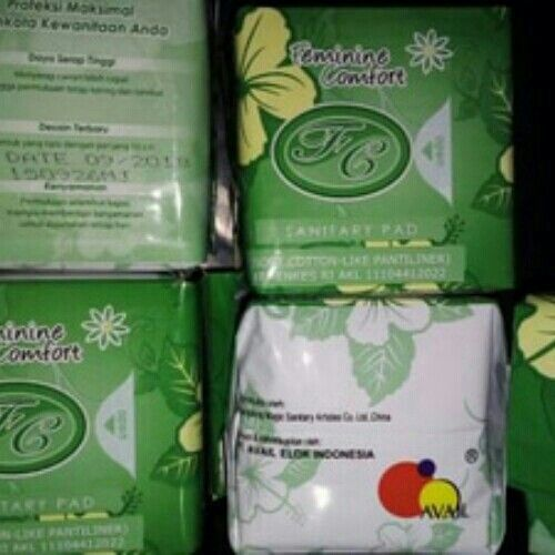 Pantyliner herbal