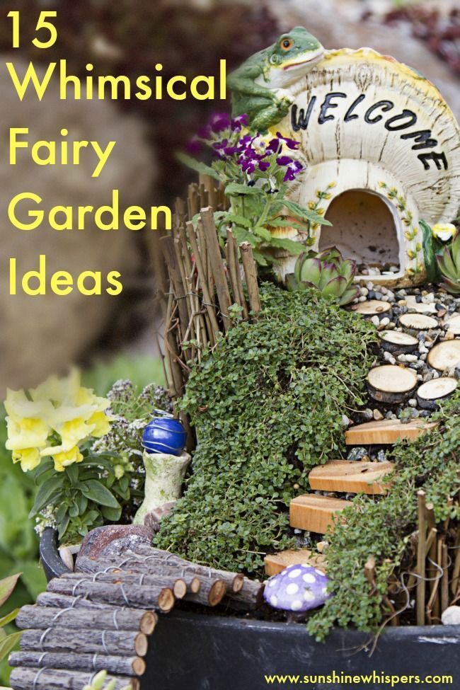 15 Whimsical Ideas to Make Your Fairy