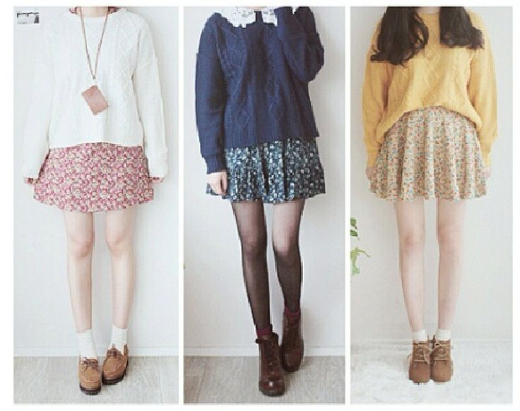 Cute korean ulzzang fashion