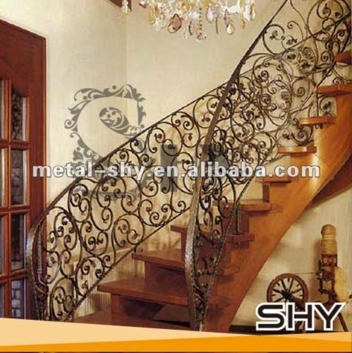 Modern Outdoor Metal Stair Railing,Wrought Iron Stair Railing Designs $10~$50