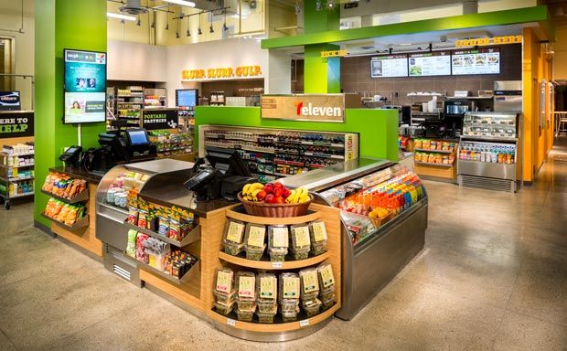 From Big Gulp to Big Salad: the world's largest chain of convenience stores is trying a fresh approach to its brand.