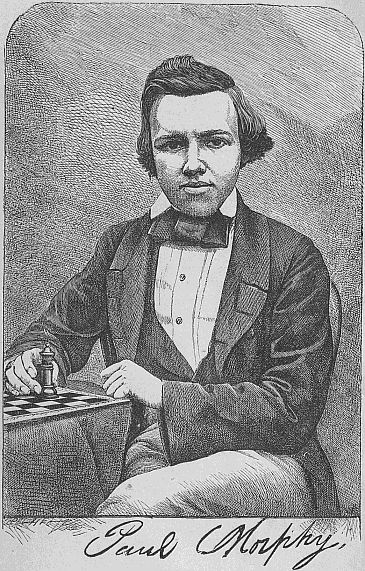 Paul Morphy - 10 Best Chess Players of All Time - EnkiVillage