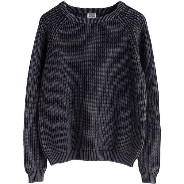 Weekday ❤ liked on Polyvore featuring tops, sweaters, jumpers, shirts, blue sweater, blue top, shirts & tops, blue jumper and shirt sweater