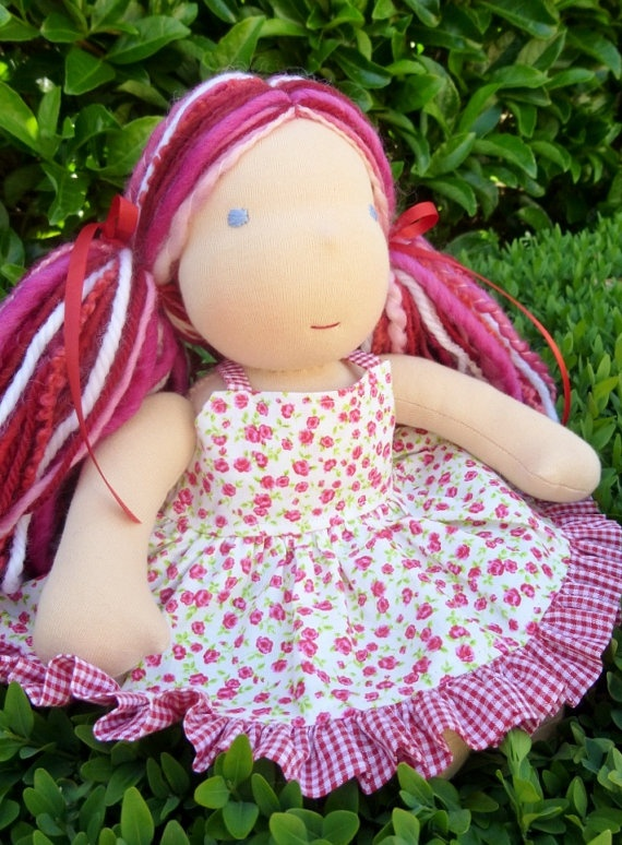 """Final payment for Toni B. 12"""" Waldorf Steiner Doll"""