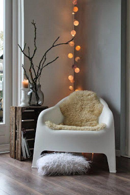 10 guirnaldas de luces con cu l te quedas sillas al - Luces decorativas ikea ...