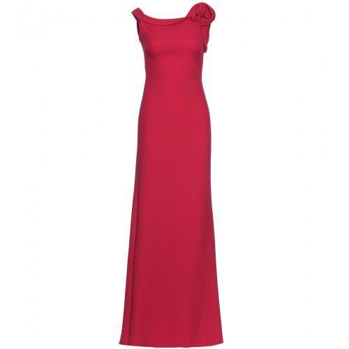 Vestido de noche de seda de Valentino