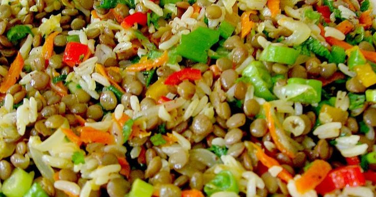 GREEN LENTIL SALAD   This recipe is from Portakal  Agaci . It turned out perfectly.   Ingredients:  1 cup of uncooked green lentil  1/2 c...