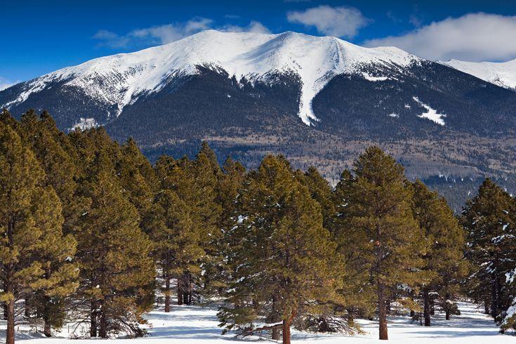 Mount Humphreys, Flagstaff, Arizona