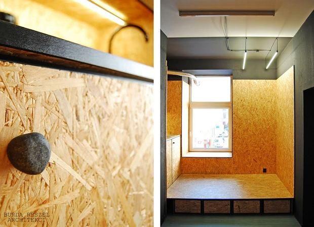 Kuchnia Z Plyty Osb Proj Burda Reszel Architekci Oriented Strand Board Osb Home