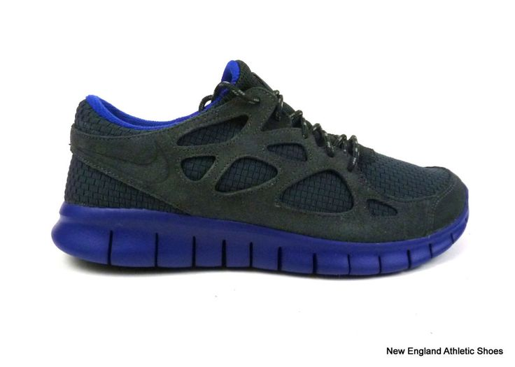 Nike men's Free Run+ 2 Woven running shoes sneakers size 8 Anthracite  Concord