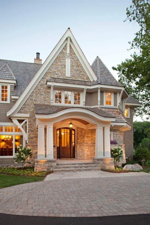 Best 25+ Stone homes ideas on Pinterest   Landscape stone near me ...