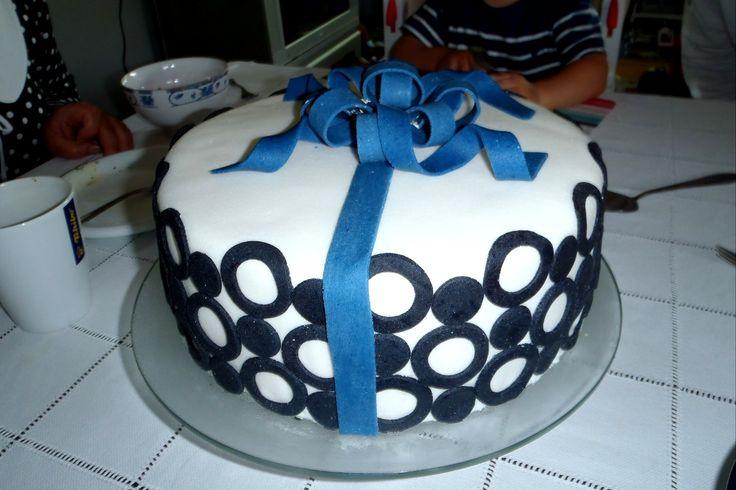 tort z kółeczkami;-)