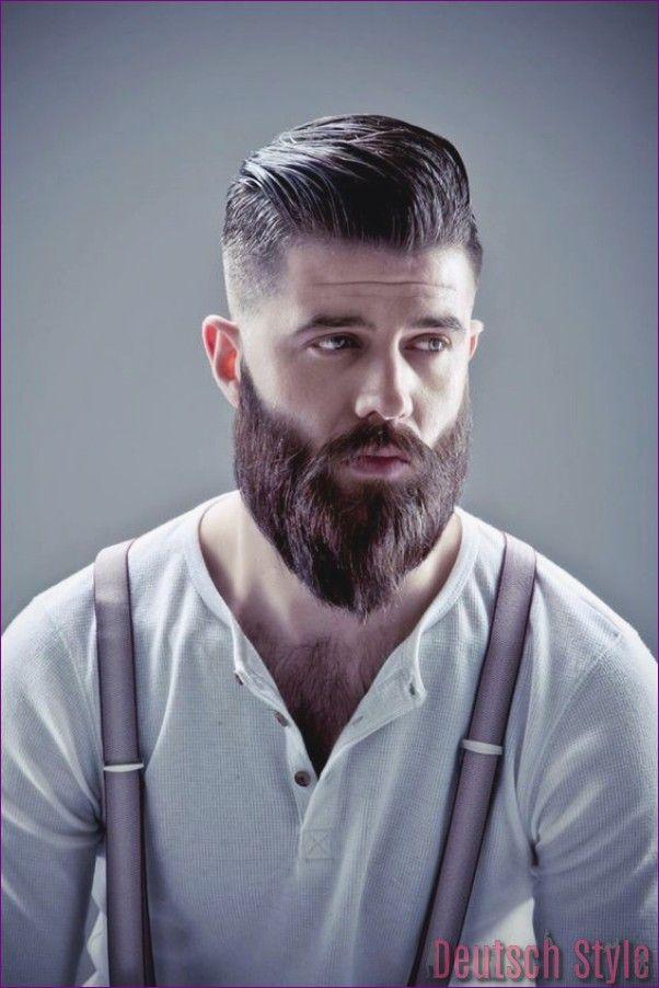 40 Trend-Frisuren für Männer mit Bärten — Deutsch Style