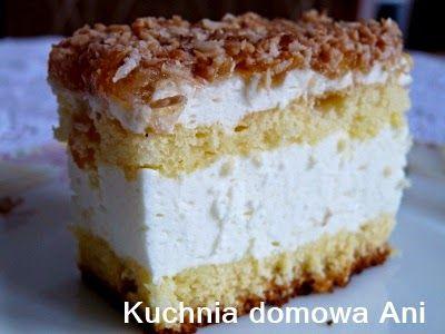 Pyszne ciasto według receptury siostry Anastazji. Szczególnie masa serowa jest rewelacyjna. Wyszło jej bardzo dużo, ale idealnie pasuje do b...