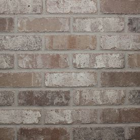 Old Mill Thin Brick Systems Colonial 2.25-in x 7.625-in Rushmore Individual Piece Brick Veneer