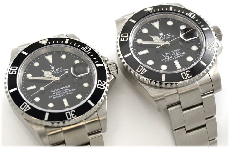 Rolex 16610 and 116610