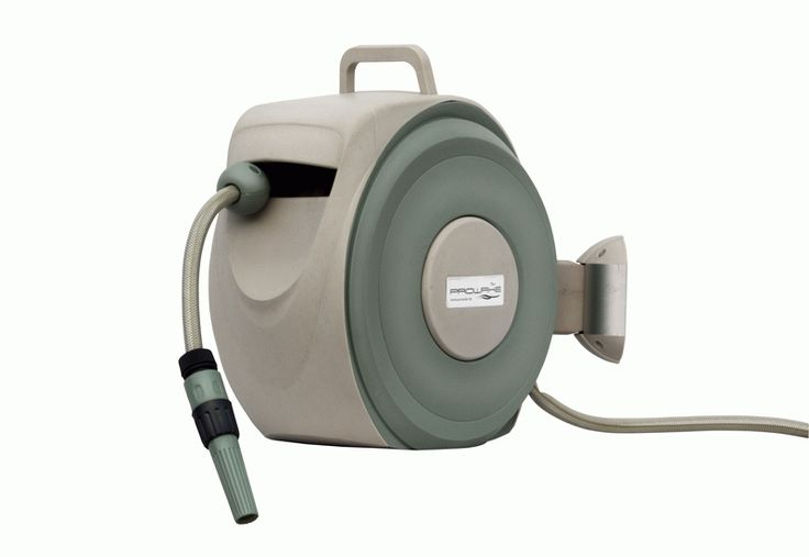 automatik gartenschlauch trommel automatischer schlauch aufroller inkl 10m gewebe schlauc. Black Bedroom Furniture Sets. Home Design Ideas