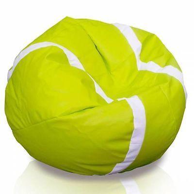Heute im Angebot: #Sitzsackhülle ohne Füllung Tennis Ball. Für alle, die #Tennis lieben und bequem fernsehen wollen. Shauen Sie unsere neue #Sitzsack.  #Sitzsackhülle #Siztsack #Tennis #Sitzkissen #Limone #Sportsessel