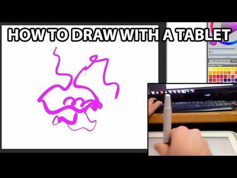 From Aaron Rutten. How to use a tablet for creating digital art. Not necessarily Wacom.