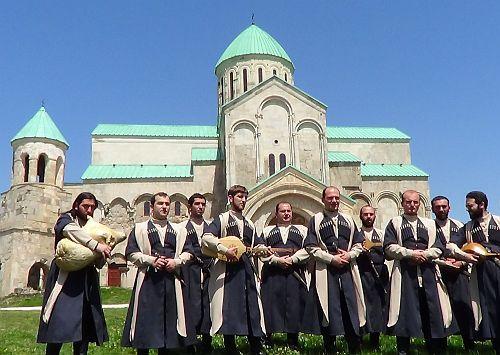 Gruzja, Kutaisi. Katedra Bagrata (XI wiek).