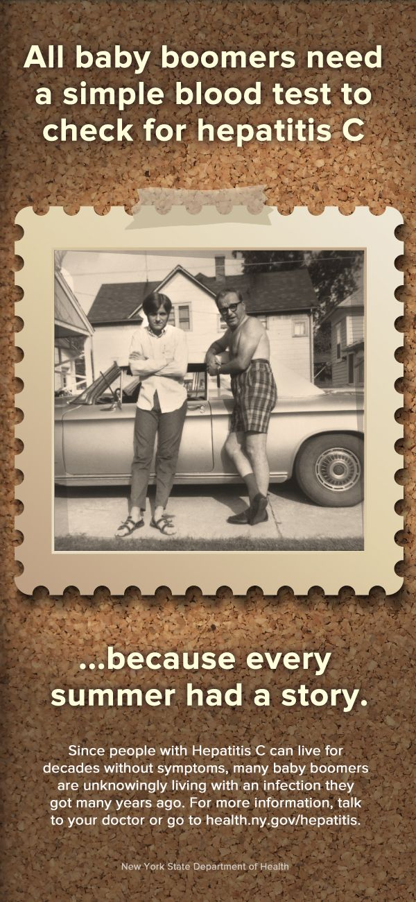 If you sported some high-waisted shorts back in the day, you should be tested for Hepatitis C!