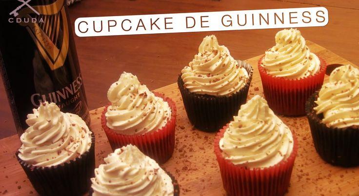 Cupcake de Guinness com Buttercream de Whiskey - Confissões de uma Docei...