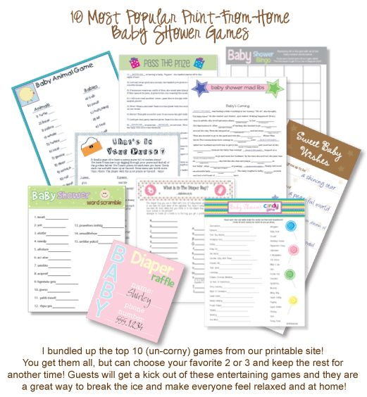 75 Baby Shower Game Ideas You Must See