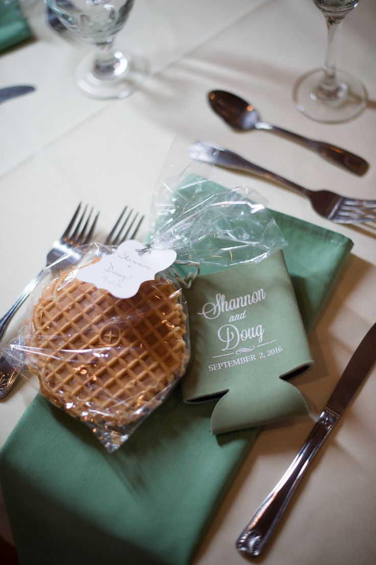 Shannon and Doug's Wedding Favors!