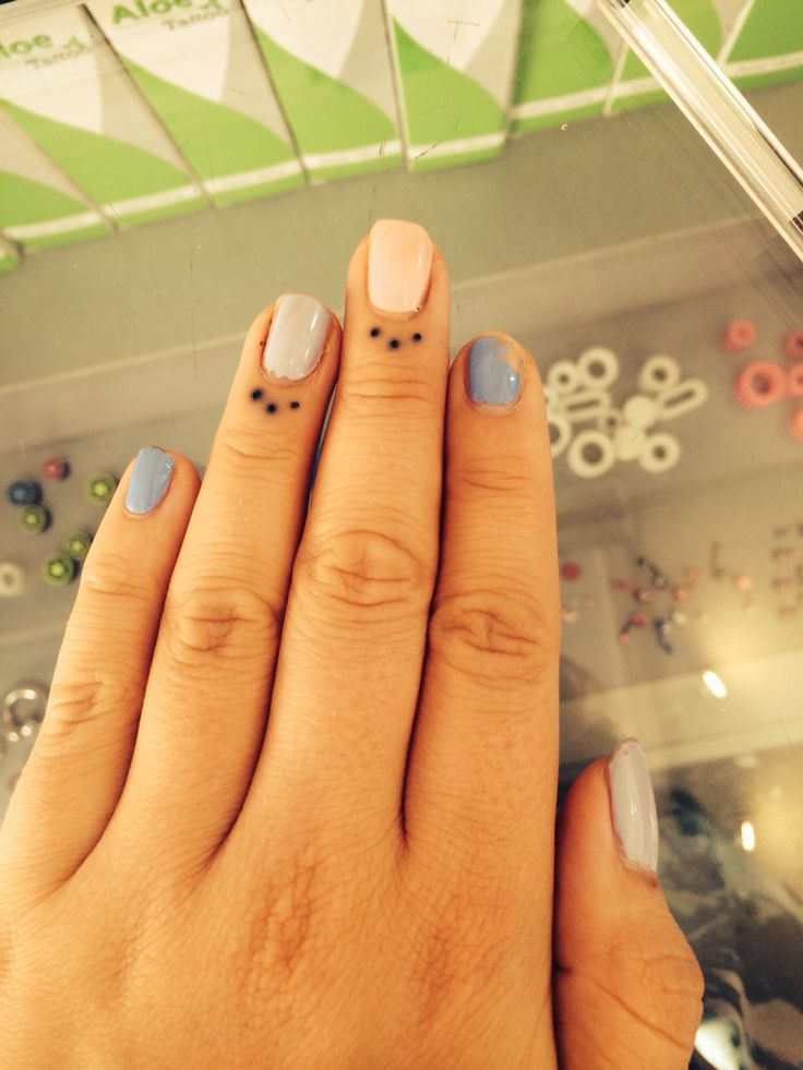 Dots on fingers | Dot tattoos | Dot tattoos, Finger, Dots