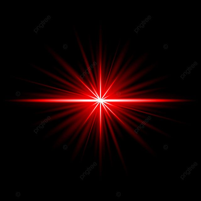 Red Light Flare Ray Effect Illuminated On Dark Background Vector And Png Light Background Images Love Background Images Light Flare