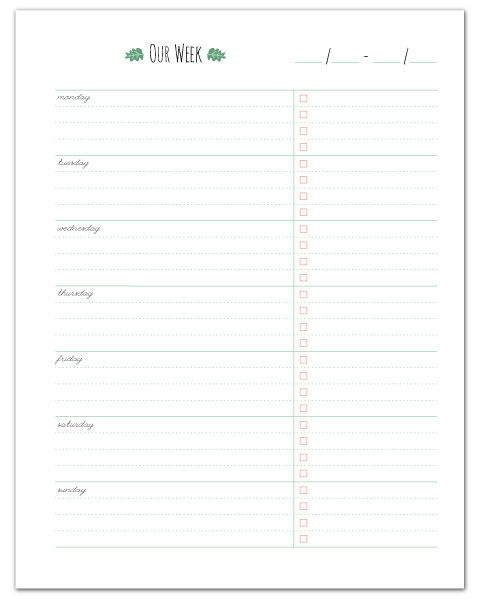 Top  Best Weekly Planner Printable Ideas On   Weekly